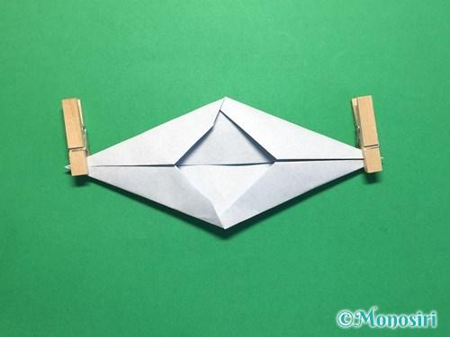 折り紙でボートの折り方手順10