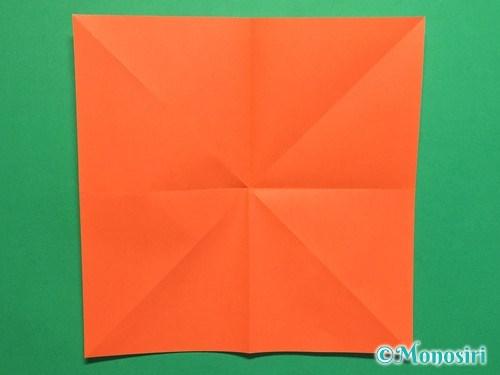 折り紙で簡単な風船の折り方手順4
