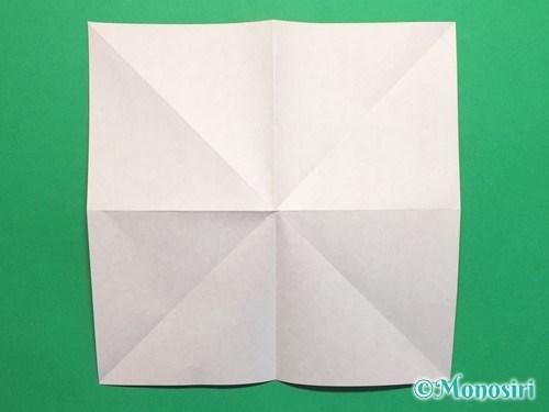 折り紙で簡単な風船の折り方手順5
