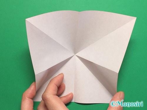 折り紙で簡単な風船の折り方手順6