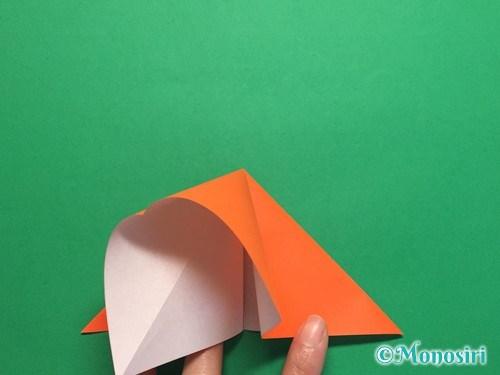 折り紙で簡単な風船の折り方手順7
