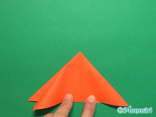 折り紙で簡単な風船の折り方手順8