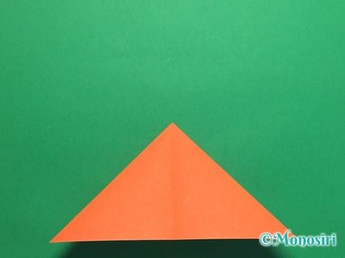 折り紙で簡単な風船の折り方手順9