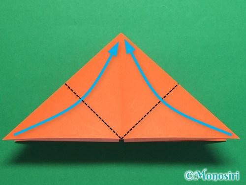 折り紙で簡単な風船の折り方手順10