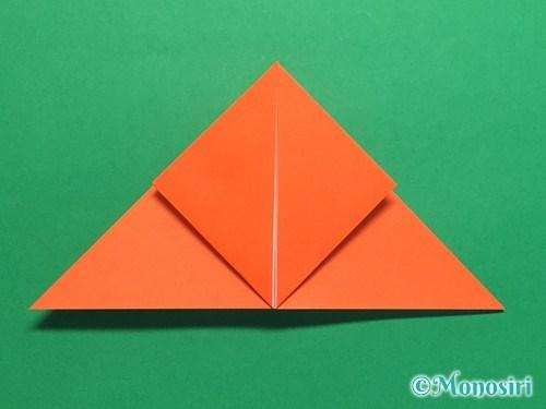折り紙で簡単な風船の折り方手順11