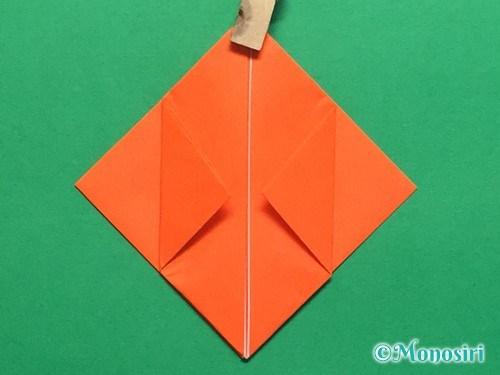 折り紙で簡単な風船の折り方手順14