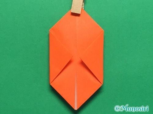 折り紙で簡単な風船の折り方手順15
