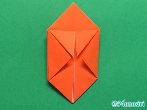 折り紙で簡単な風船の折り方手順17