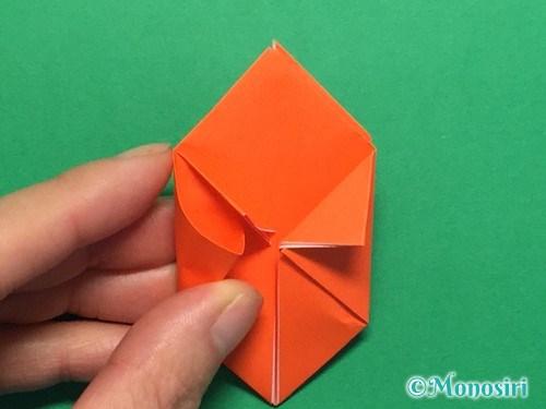 折り紙で簡単な風船の折り方手順20