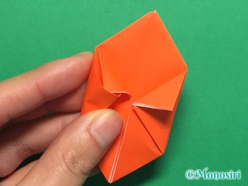 折り紙で簡単な風船の折り方手順21