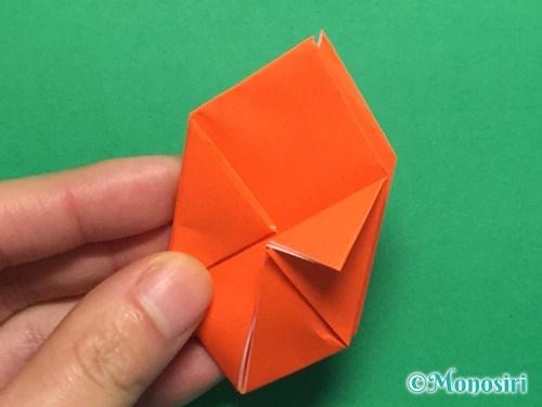 折り紙で簡単な風船の折り方手順22