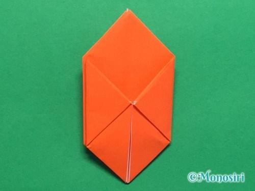折り紙で簡単な風船の折り方手順23