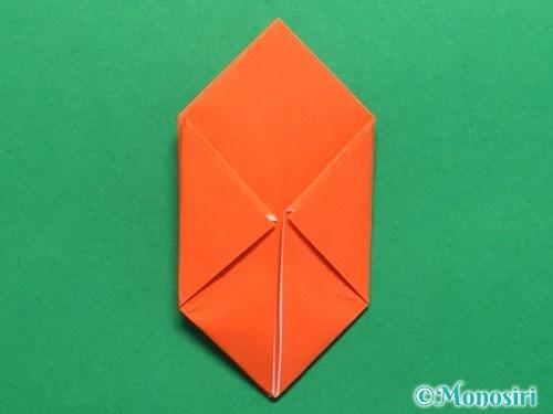 折り紙で簡単な風船の折り方手順24