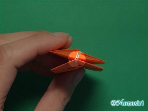 折り紙で簡単な風船の折り方手順25