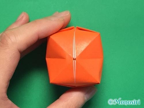 折り紙で簡単な風船の折り方手順26