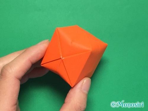 折り紙で簡単な風船の折り方手順27