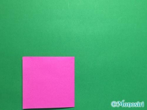 折り紙で羽根つき風船の折り方手順4