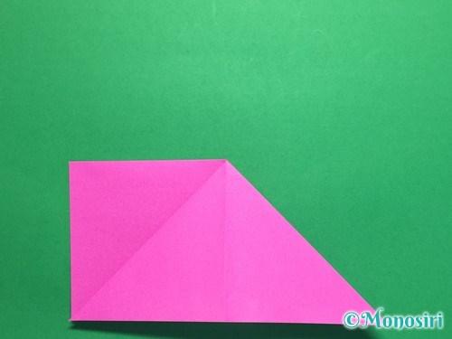 折り紙で羽根つき風船の折り方手順7