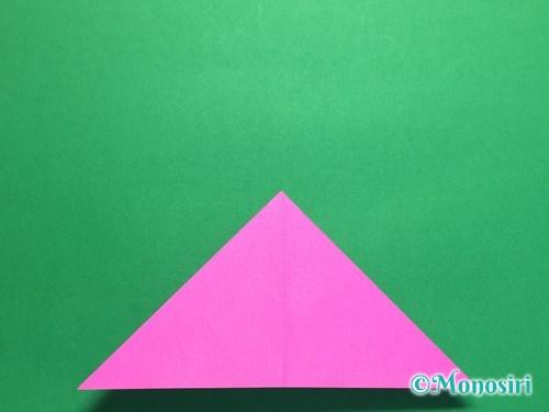 折り紙で羽根つき風船の折り方手順8