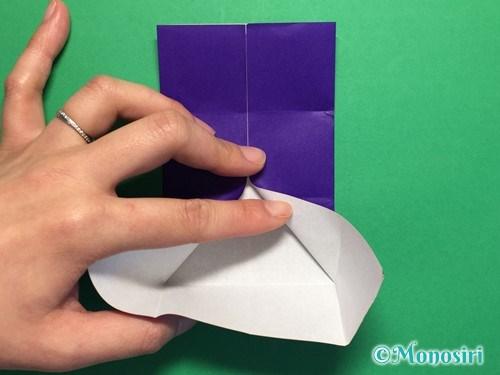 折り紙でだまし船の折り方手順9
