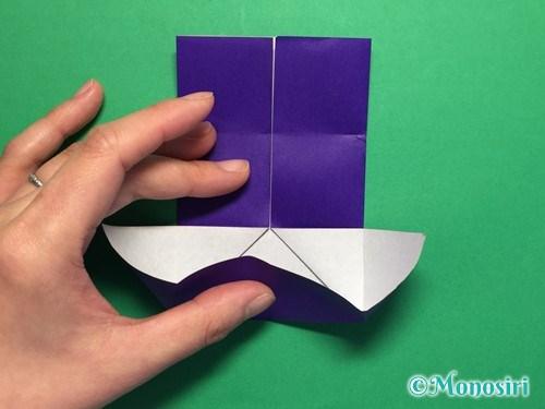 折り紙でだまし船の折り方手順10