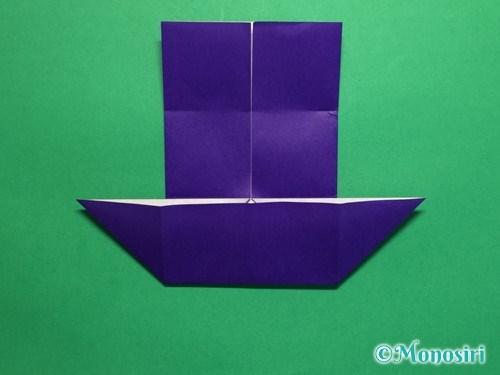 折り紙でだまし船の折り方手順11