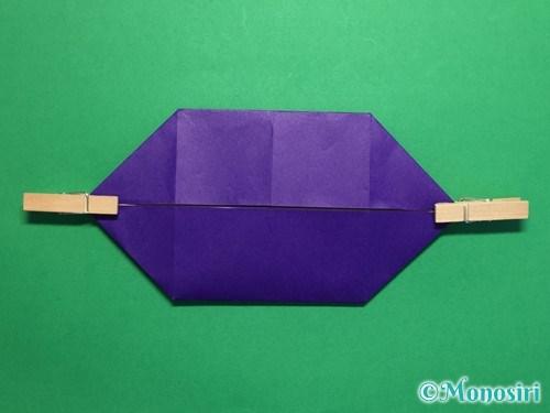 折り紙でだまし船の折り方手順12
