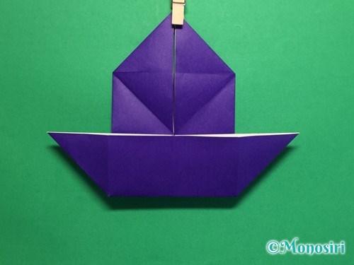 折り紙でだまし船の折り方手順14