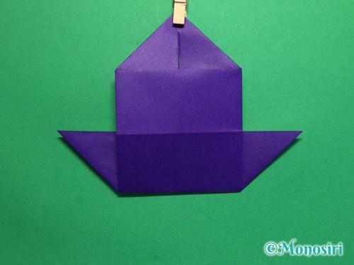 折り紙でだまし船の折り方手順15