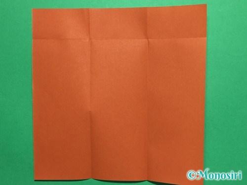 折り紙でつくしの折り方手順4