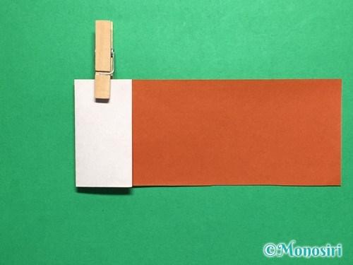 折り紙でつくしの折り方手順8