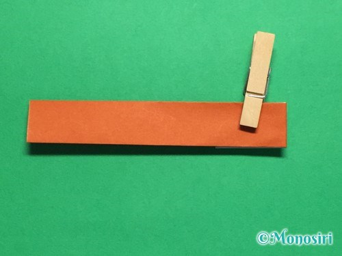 折り紙でつくしの折り方手順13