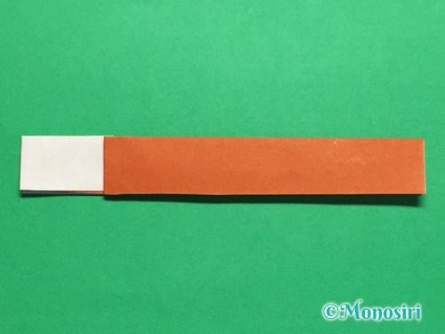 折り紙でつくしの折り方手順15