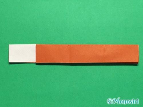 折り紙でつくしの折り方手順17