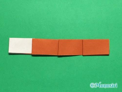 折り紙でつくしの折り方手順18