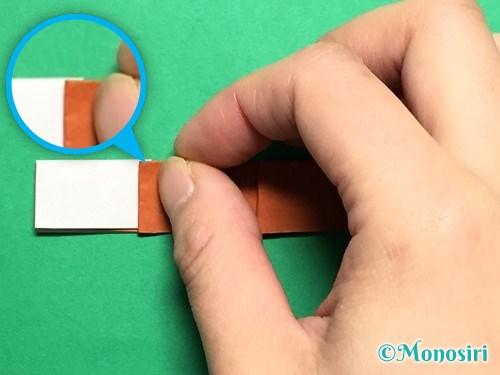 折り紙でつくしの折り方手順20