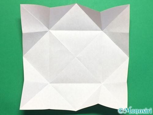 折り紙で回せるコマの作り方手順7