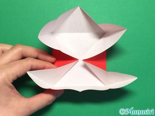 折り紙で回せるコマの作り方手順9