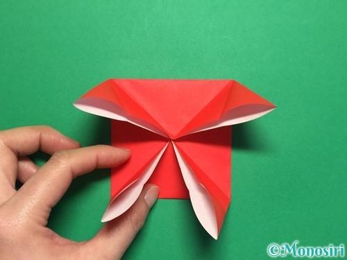 折り紙で回せるコマの作り方手順10