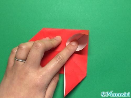 折り紙で回せるコマの作り方手順11