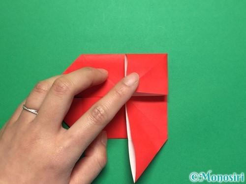 折り紙で回せるコマの作り方手順12