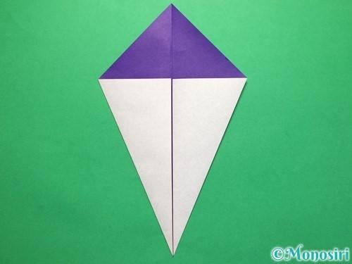 折り紙で平面のコマの作り方手順4