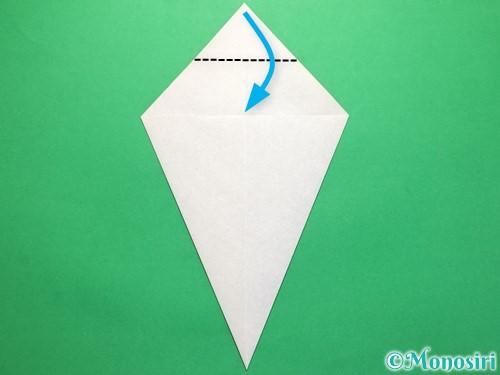 折り紙で平面のコマの作り方手順8