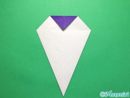 折り紙で平面のコマの作り方手順9