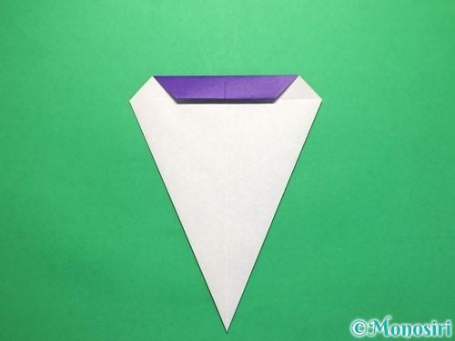折り紙で平面のコマの作り方手順11