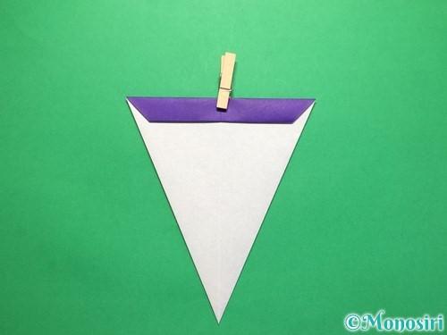 折り紙で平面のコマの作り方手順13