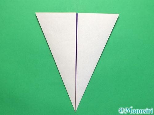 折り紙で平面のコマの作り方手順14