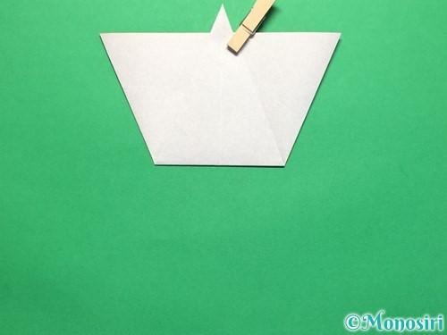 折り紙で平面のコマの作り方手順16