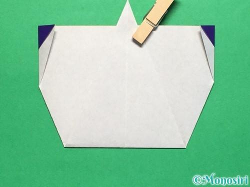 折り紙で平面のコマの作り方手順18