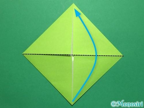 折り紙で簡単なぴょんぴょんカエルの折り方手順5